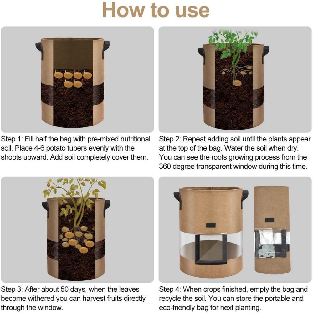 best potato grow bag